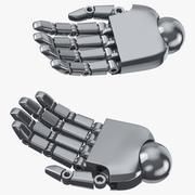 Roboterhände 01 Natürlich 3d model