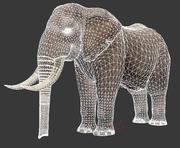 코끼리 3d model