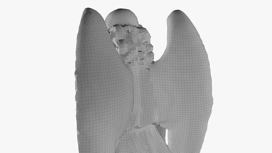 Statua anioła royalty-free 3d model - Preview no. 50