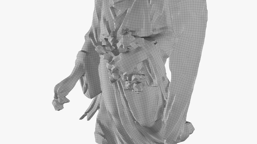Statua anioła royalty-free 3d model - Preview no. 53