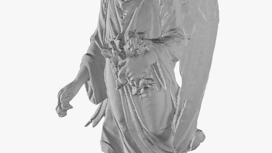 Statua anioła royalty-free 3d model - Preview no. 33