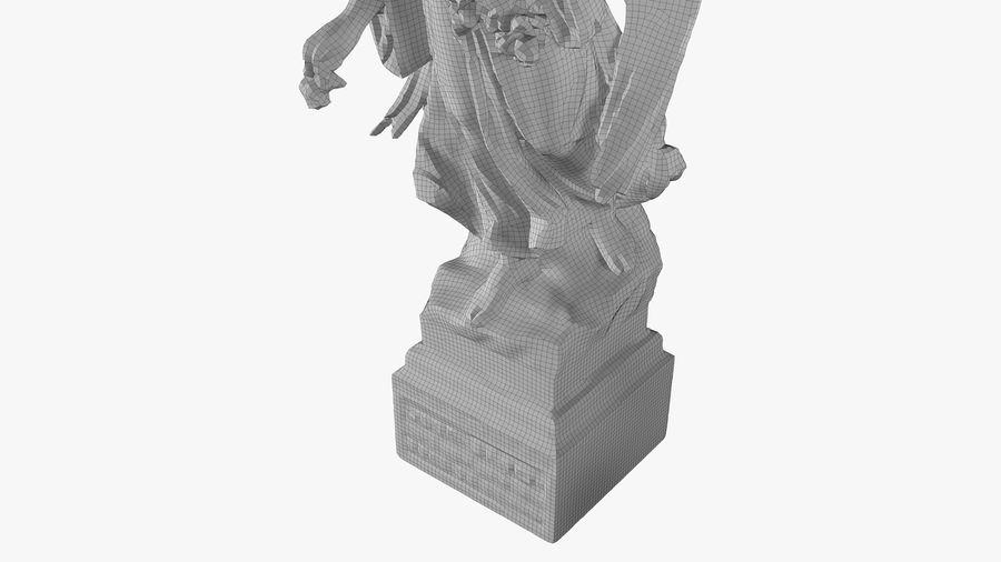 Statua anioła royalty-free 3d model - Preview no. 56