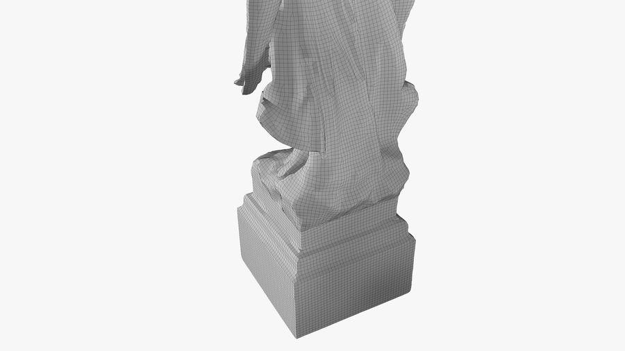 Statua anioła royalty-free 3d model - Preview no. 57