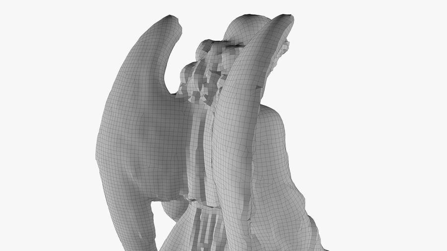 Statua anioła royalty-free 3d model - Preview no. 51