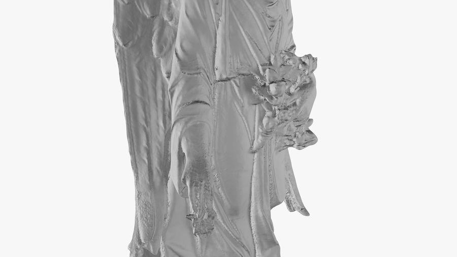 Statua anioła royalty-free 3d model - Preview no. 35
