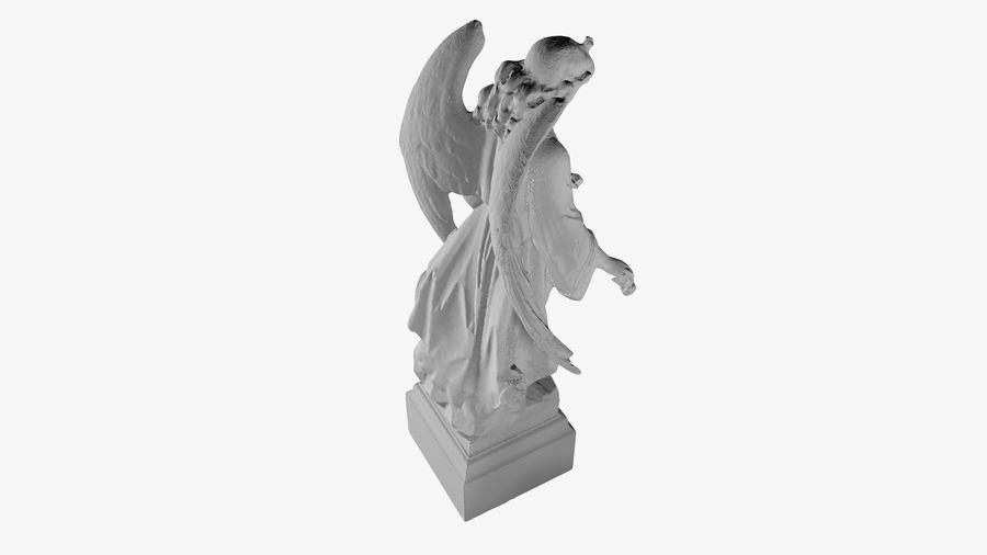 Statua anioła royalty-free 3d model - Preview no. 41