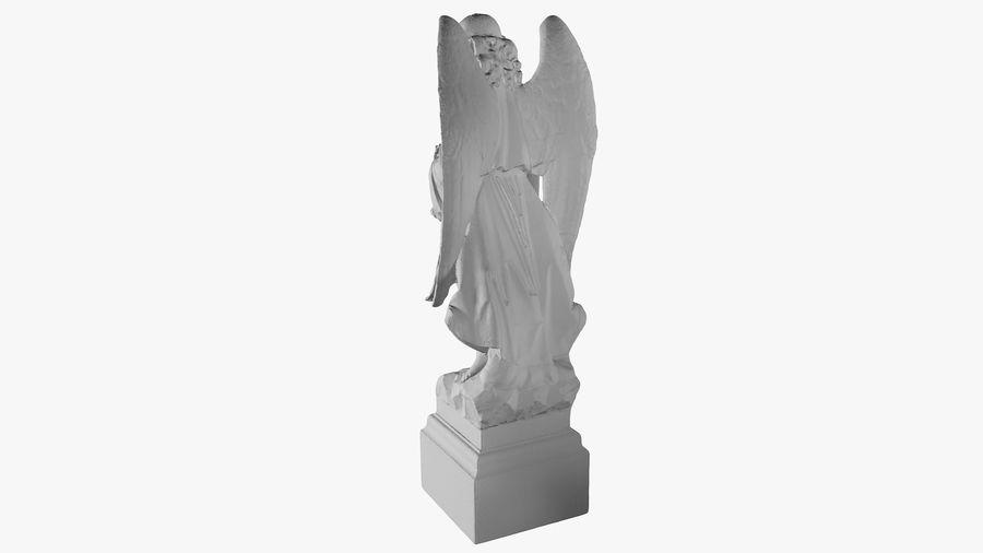 Statua anioła royalty-free 3d model - Preview no. 26