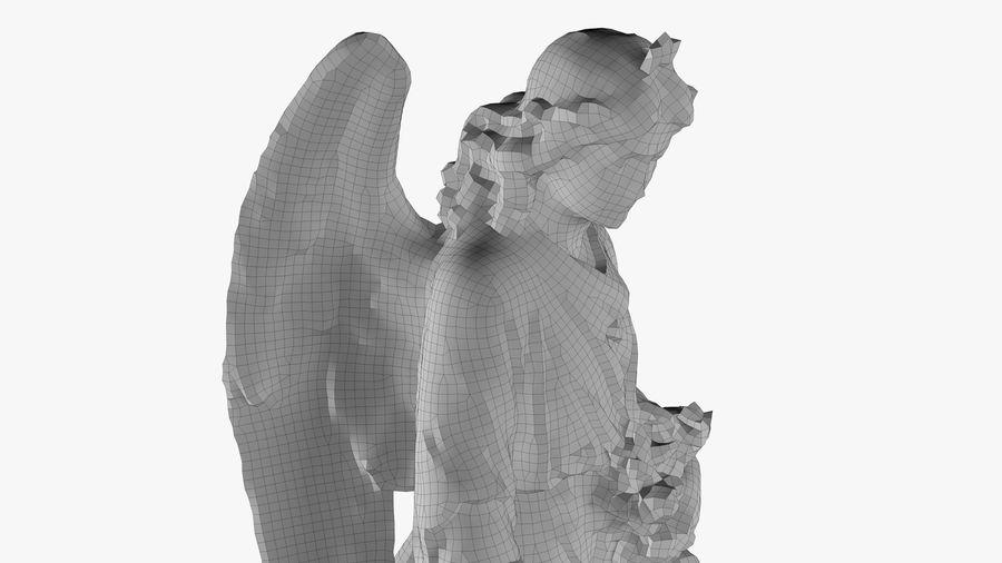 Statua anioła royalty-free 3d model - Preview no. 52