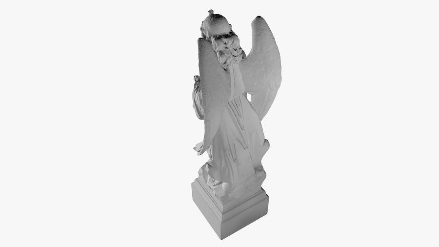 Statua anioła royalty-free 3d model - Preview no. 40