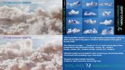 VDB Clouds MEGA BUNDLE 3 in 1(Vol.1、Vol.2、Vol.3) 3d model
