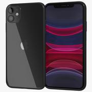 Apple iPhone 11 Black 3d model