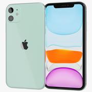 Apple iPhone 11 Yeşil 3d model