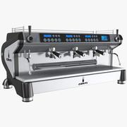 Espresso Kaffebryggare Mashine 3d model