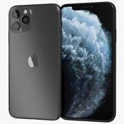 Apple iPhone 11 Pro Uzay Gri 3d model