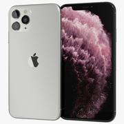 Apple iPhone 11 Pro Gümüş 3d model