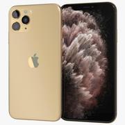 Apple iPhone 11 Pro Altın 3d model