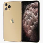 Apple iPhone 11 Pro Max Gold 3d model