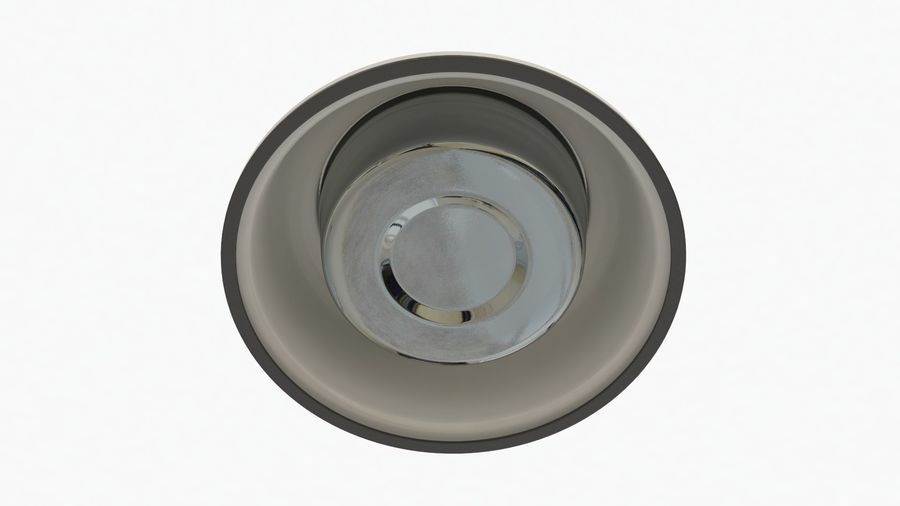 Dog Bowl with Food royalty-free 3d model - Preview no. 13