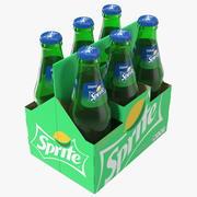 Sprite Bottle Package 3d model