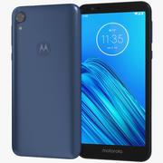 Motorola Moto E6 Blue 3d model