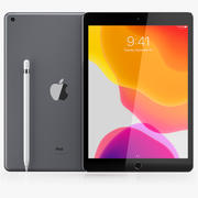 iPad 10.2 inch 7th generation 2019 3d model
