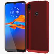 Motorola Moto E6 Plus Bright Cherry 3d model