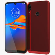 Motorola Moto E6 Plus Bright Cherry 3d model
