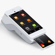 Payment Tablet Terminal A920 3d model