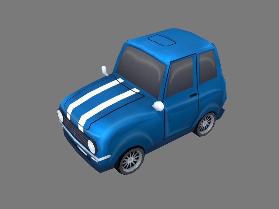Coche de dibujos animados royalty-free modelo 3d - Preview no. 1