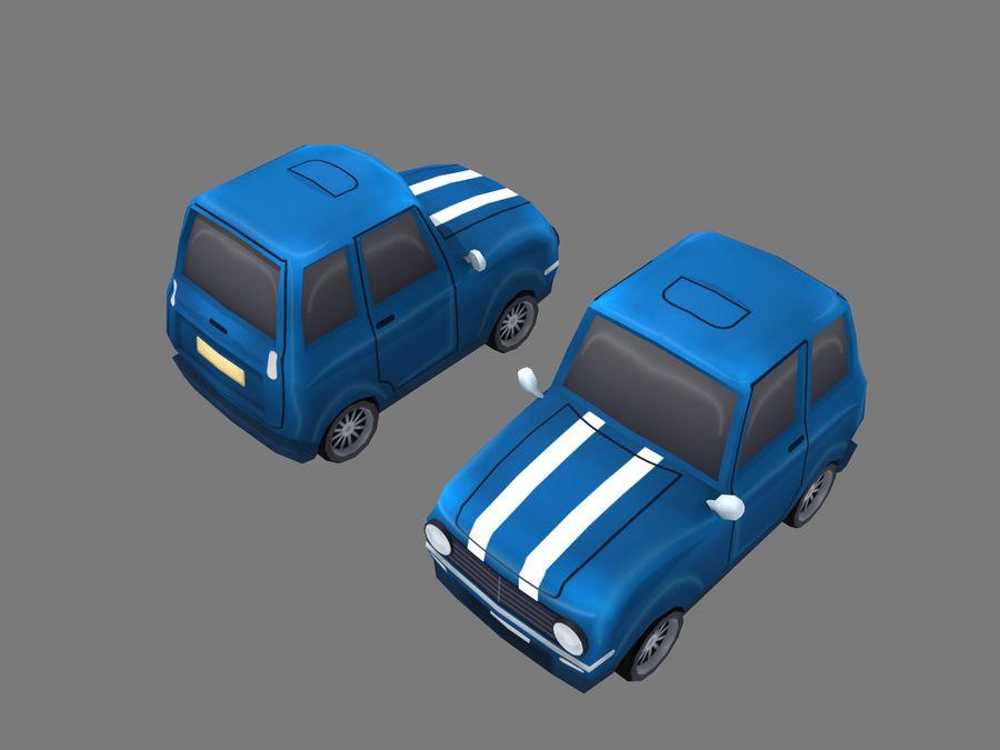 Coche de dibujos animados royalty-free modelo 3d - Preview no. 8