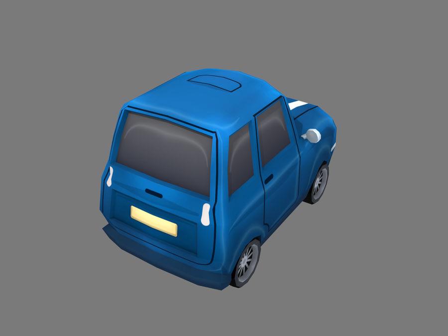 Coche de dibujos animados royalty-free modelo 3d - Preview no. 4