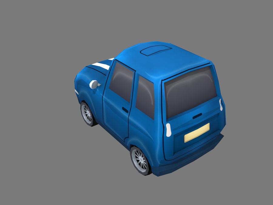 Coche de dibujos animados royalty-free modelo 3d - Preview no. 3