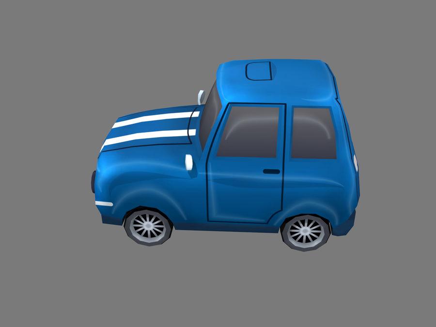 Coche de dibujos animados royalty-free modelo 3d - Preview no. 2