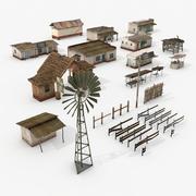 Zasoby wiejskie 3d model