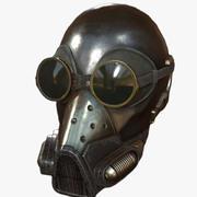 Helmet sci-fi military combat 3d model