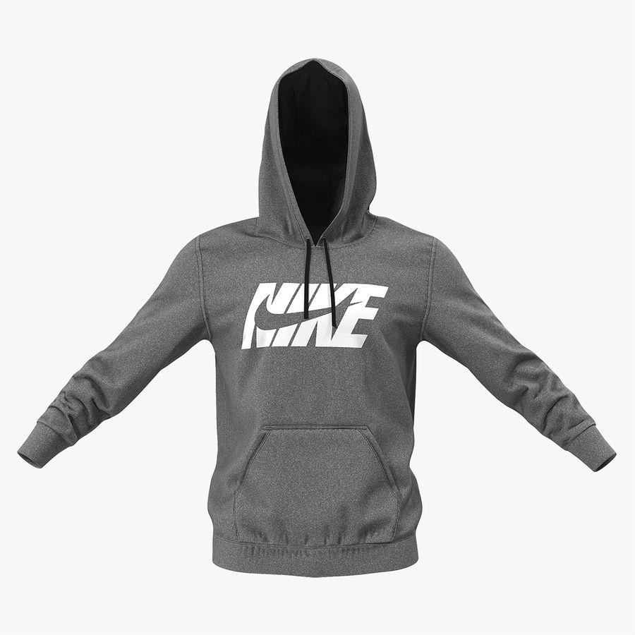 herir toxicidad vena  Sudadera con capucha gris Nike Raised Hood Modelo 3D $49 - .max .obj .ma  .fbx .c4d .blend .3ds - Free3D