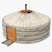 New Mongolian Yurt 3d model