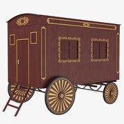 Klassiek vervoer 3D-model 3d model