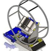 Miscelatore per polvere 3d model