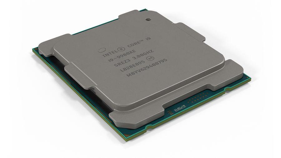 Collection de processeurs Intel et AMD royalty-free 3d model - Preview no. 3