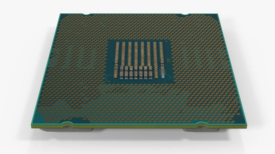 Collection de processeurs Intel et AMD royalty-free 3d model - Preview no. 8