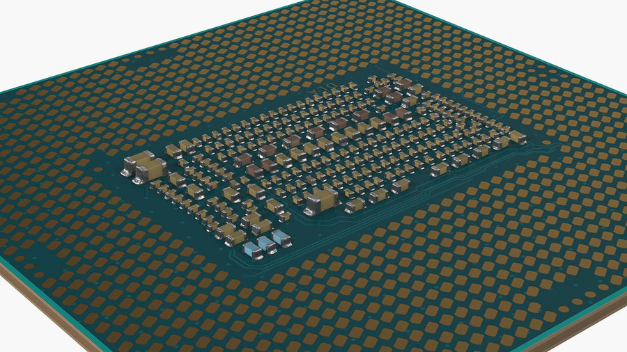 Intel und AMD CPU Collection royalty-free 3d model - Preview no. 18