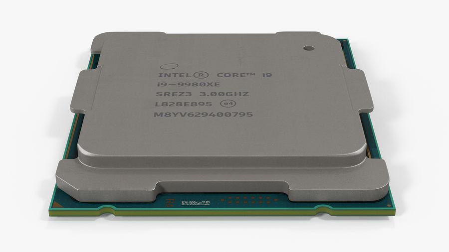 Collection de processeurs Intel et AMD royalty-free 3d model - Preview no. 5