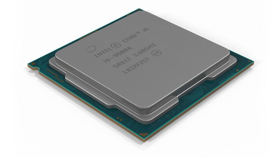 Collection de processeurs Intel et AMD royalty-free 3d model - Preview no. 15