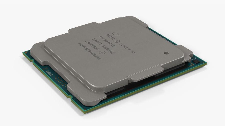 Collection de processeurs Intel et AMD royalty-free 3d model - Preview no. 7