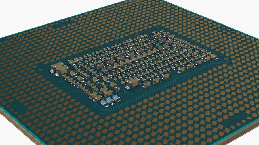 Collection de processeurs Intel et AMD royalty-free 3d model - Preview no. 18