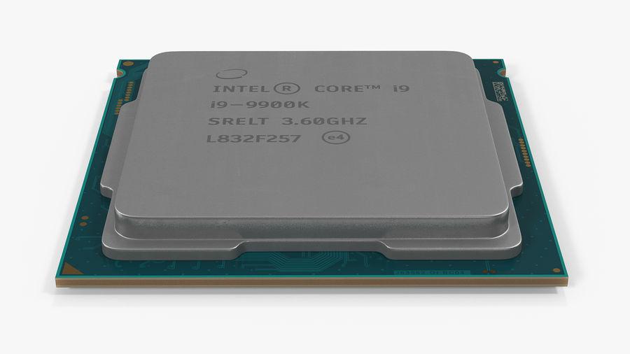 Collection de processeurs Intel et AMD royalty-free 3d model - Preview no. 20