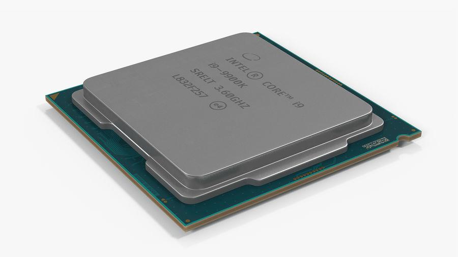 Collection de processeurs Intel et AMD royalty-free 3d model - Preview no. 19