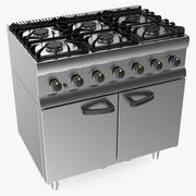 Inox Cozinha Gás Owen 3d model