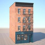 New York stilbyggnad 3d model
